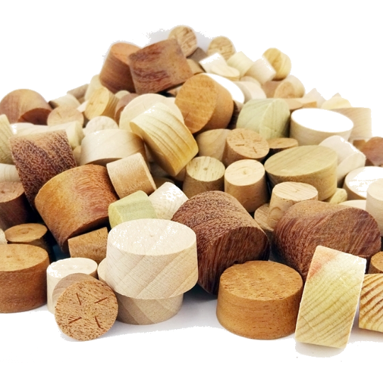Tapered Wooden Pellets