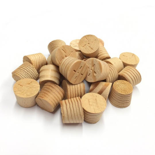 Cross Grain Wooden Plugs