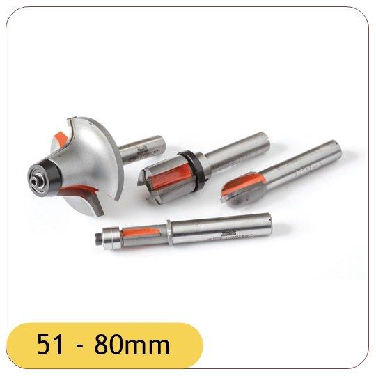51 - 80mm