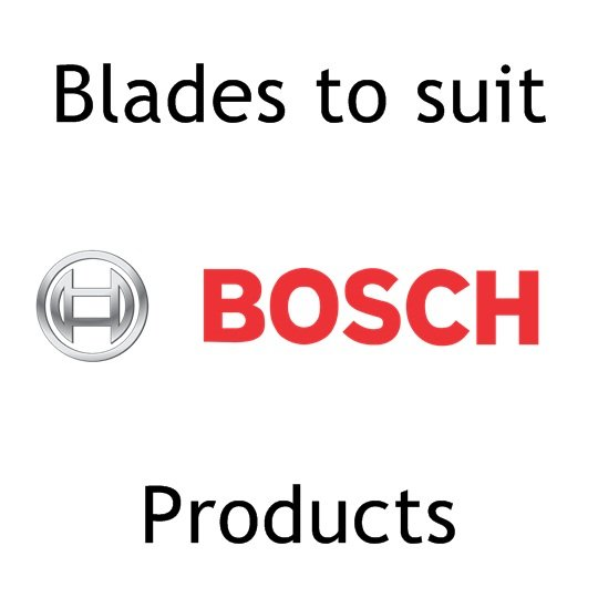 - To Suit Bosch