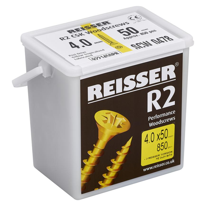 R2 Joinery High Performance Woodscrews