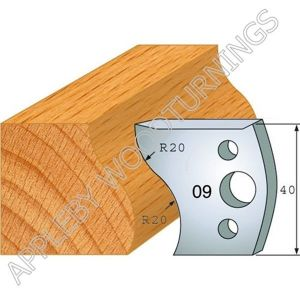 Profile No. 09  40mm Euro Knives, Limitors and Sets