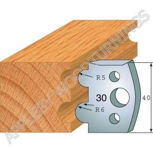 Profile No. 30  40mm Euro Knives, Limitors and Sets