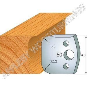 Profile No. 50  40mm Euro Knives, Limitors and Sets