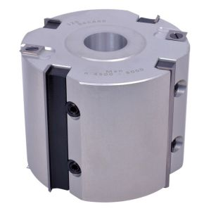 """Whitehill 125mm x 100mm x 1-1/4"""" Bore Aluminium Rebate Head 060A00140"""