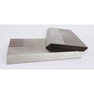 1 Pair HSS Serrated Profile Blanks 100 x 70 x 8 mm
