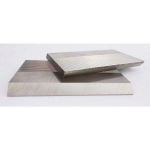 1 Pair HSS Serrated Profile Blanks 100 x 60 x 8 mm