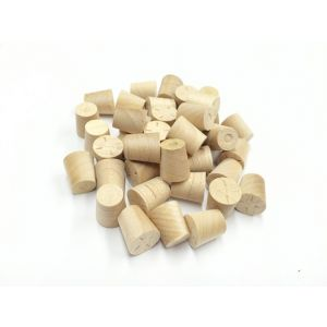 3/8 Inch Maple Tapered Wooden Plugs 100pcs