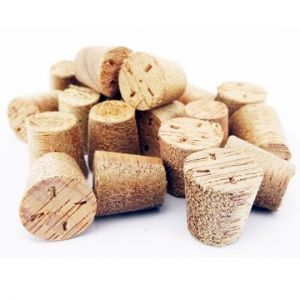 21mm Meranti Tapered Wooden Plugs 100pcs supplied by Appleby Woodturnings