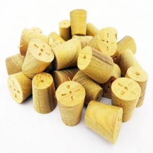 12mm Parana Pine Tapered Wooden Plugs 100pcs