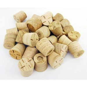 9mm Chestnut Tapered Wooden Plugs 100pcs