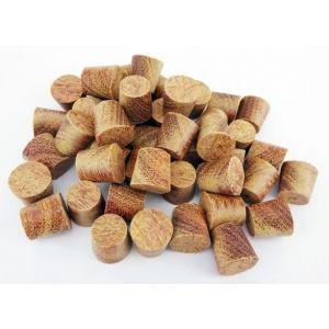 12mm Cumaru Tapered Wooden Plugs 100pcs