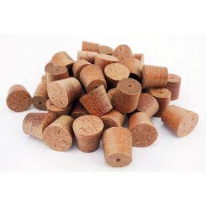 15mm Massaranduba Tapered Wooden Plugs 100pcs