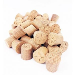 28mm Sapele Tapered Wooden Plugs 100pcs