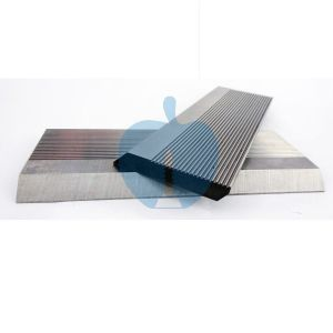 1 Pair HSS Serrated Profile Blanks 40 x 70 x 8 mm