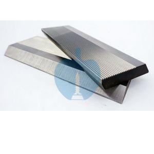 1 Pair HSS Serrated Profile Blanks 120mm Width x 50mm Depth x 8mm Thick