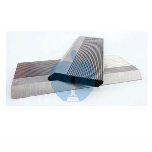 1 Pair HSS Serrated Profile Blanks 130 x 50 x 8 mm