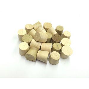 12mm Poplar Tapered Wooden Plugs 100pcs