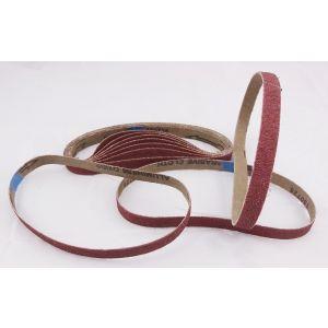 80 Pack 60 Grit Sanding Belts 13 x 457mm