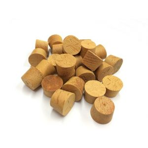 30mm Opepe Tapered Wooden Plugs 100pcs