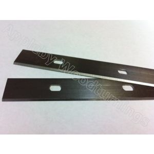 200 x 18.6 x 1.1mm HSS Double Edged Disposable Planer Blades 1 pair