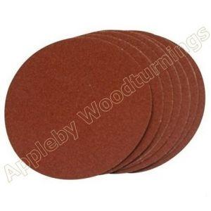 150mm Circular Self Adhesive Sanding Discs – 1 pack of 10 - 120 Grit