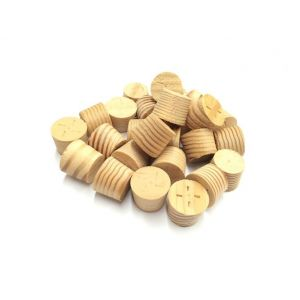 11mm Columbian Pine Tapered Wooden Plugs 100pcs