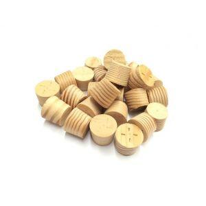 16mm Columbian Pine Tapered Wooden Plugs 100pcs