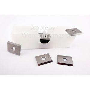 15 x 12 x 1.5mm Solid Carbide Reversible Knives 1 Box (10pcs)