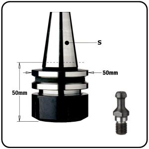 """ISO30 CNC Tool Arbor Chucks for """"ER32"""" Collets to suit Biesse Machines"""