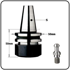 """ISO30 CNC Tool Arbor Chucks for """"ER32"""" Collets to suit Alberti Machines"""