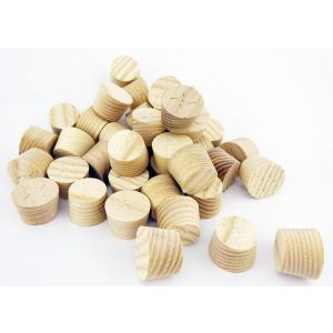 12mm Ash American White Tapered Wooden Plugs 100pcs