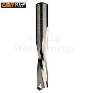 6mm dia x 27mm cut CNC S=8mm Finishing Spiral Router 2 Flute Negative R/H CMT
