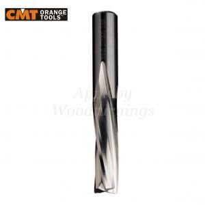 12mm dia x 35mm cut CNC S=12mm Finishing Spiral Router 3 Flute Neg. R/H CMT