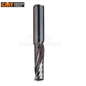 8mm dia x 22mm cut CNC Finishing Spiral Router Z=1 Positive R/H CMT