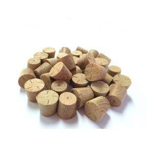 14mm Balau Tapered Wooden Plugs