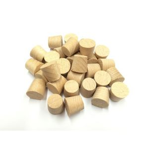 3/8 Inch Polmier Beech Tapered Wooden Plugs 100pcs