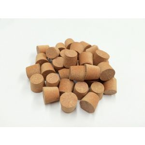 12mm Red MDF Tapered Wooden Plugs 100pcs
