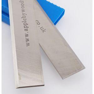 410 x 25 x 3mm HSS Resharpenable Planer Blades 1 Pair