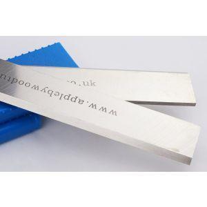 310 x 30 x 3mm HSS Resharpenable Planer Blades 1 Pair