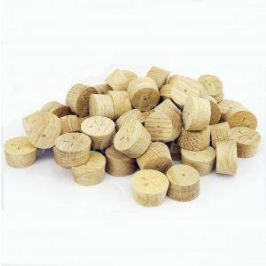 23mm European Oak Tapered Wooden Plugs 100pcs