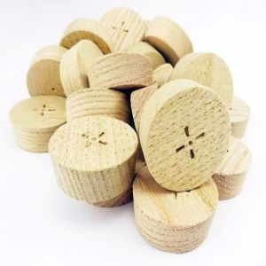 25mm Chestnut Tapered Wooden Plugs 100pcs
