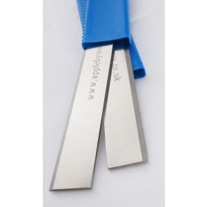 220 x 20 x 2.5mm HSS Resharpenable Planer Blades 1Pair