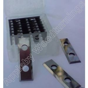 29.5 x 9 x 1.5mm Reversible Knife Turn Blades 1 Box (10pcs)