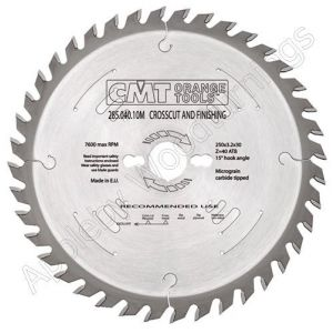 305mm Z=72 Neg CMT Cross Cut Saw Blade  294.072.22M