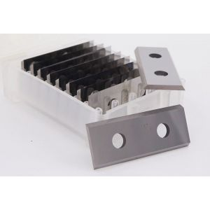1 Box (10pcs) 50mm 2 inch Carbide Scraper Blades To Suit Linbide Hand Held Scrapers