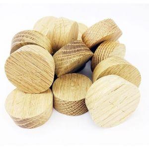 44mm European Oak Tapered Wooden Plugs 100pcs