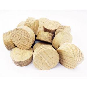 32mm American White Oak Tapered Wooden Plugs 100pcs