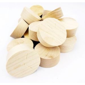 32mm Maple Tapered Wooden Plugs 100pcs