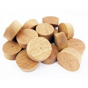 32mm Sapele Tapered Wooden Plugs 100pcs